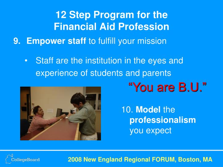 12 Step Program for the