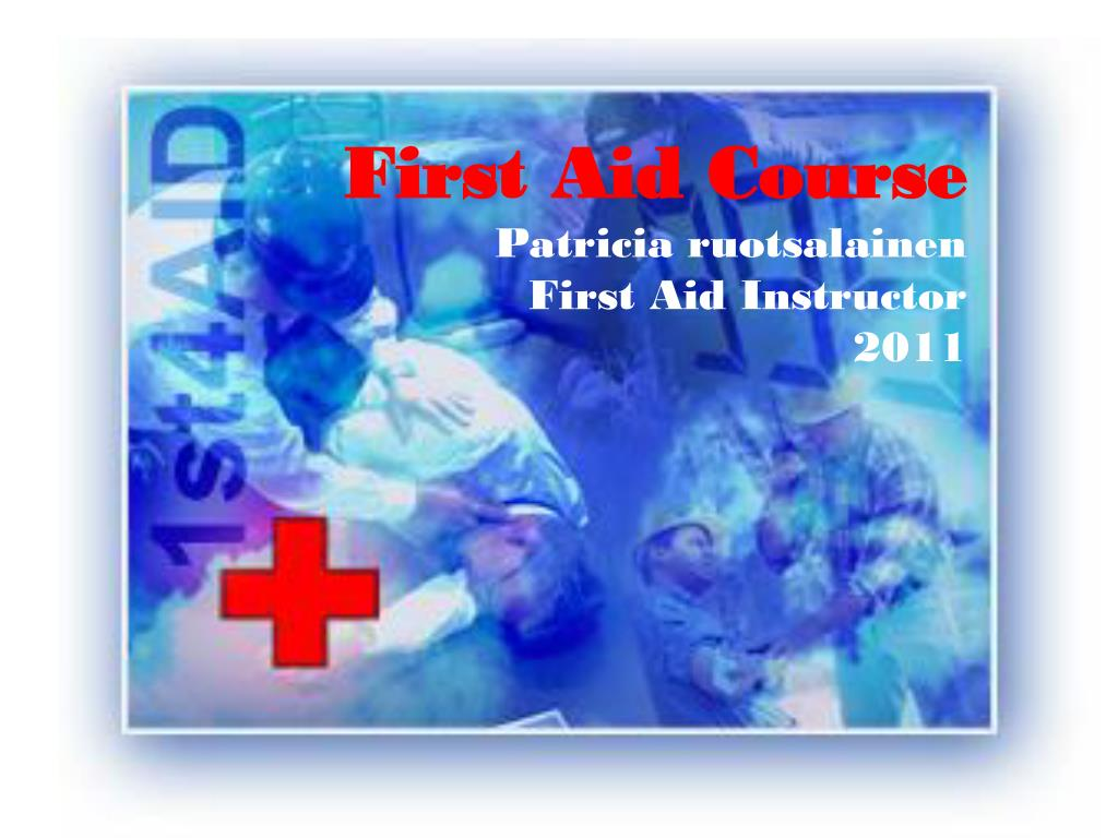 first aid course 2006 siw sandell first aid instructor l.