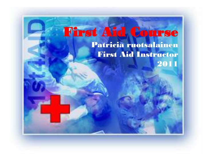 first aid course 2006 siw sandell first aid instructor n.