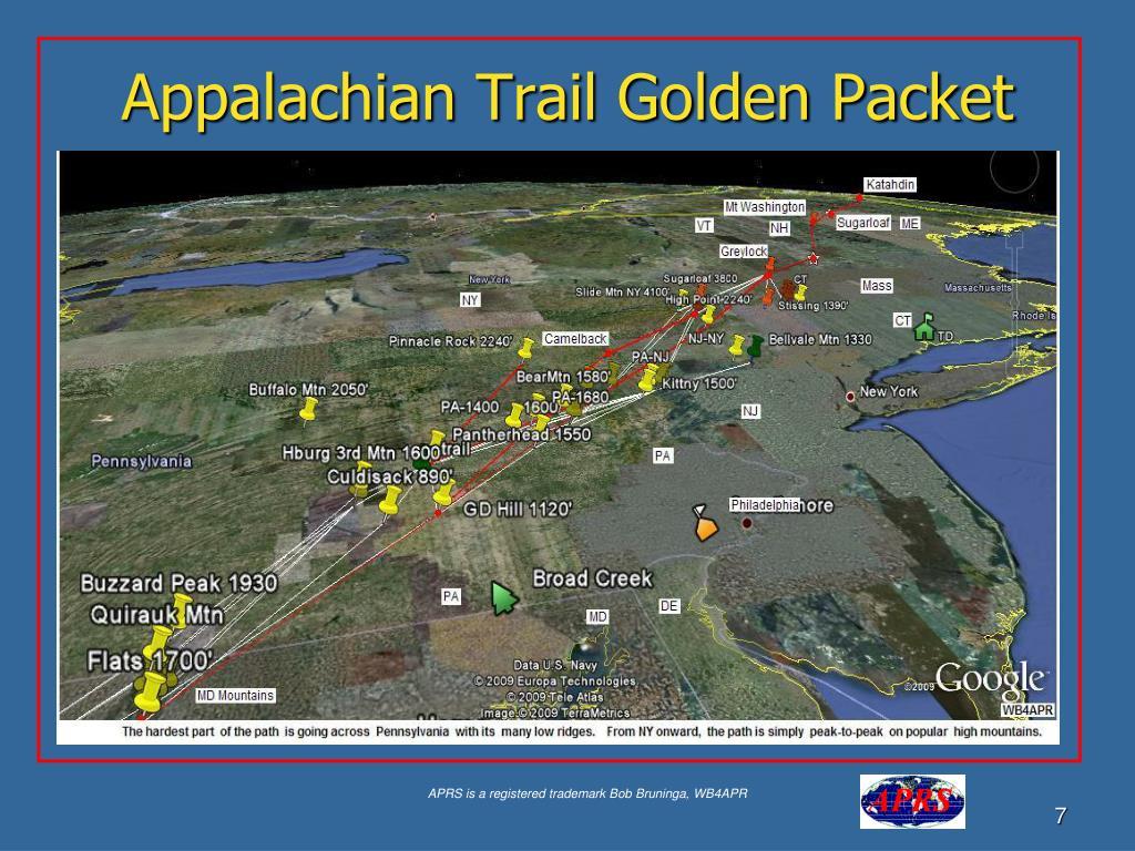 Appalachian Trail Golden Packet