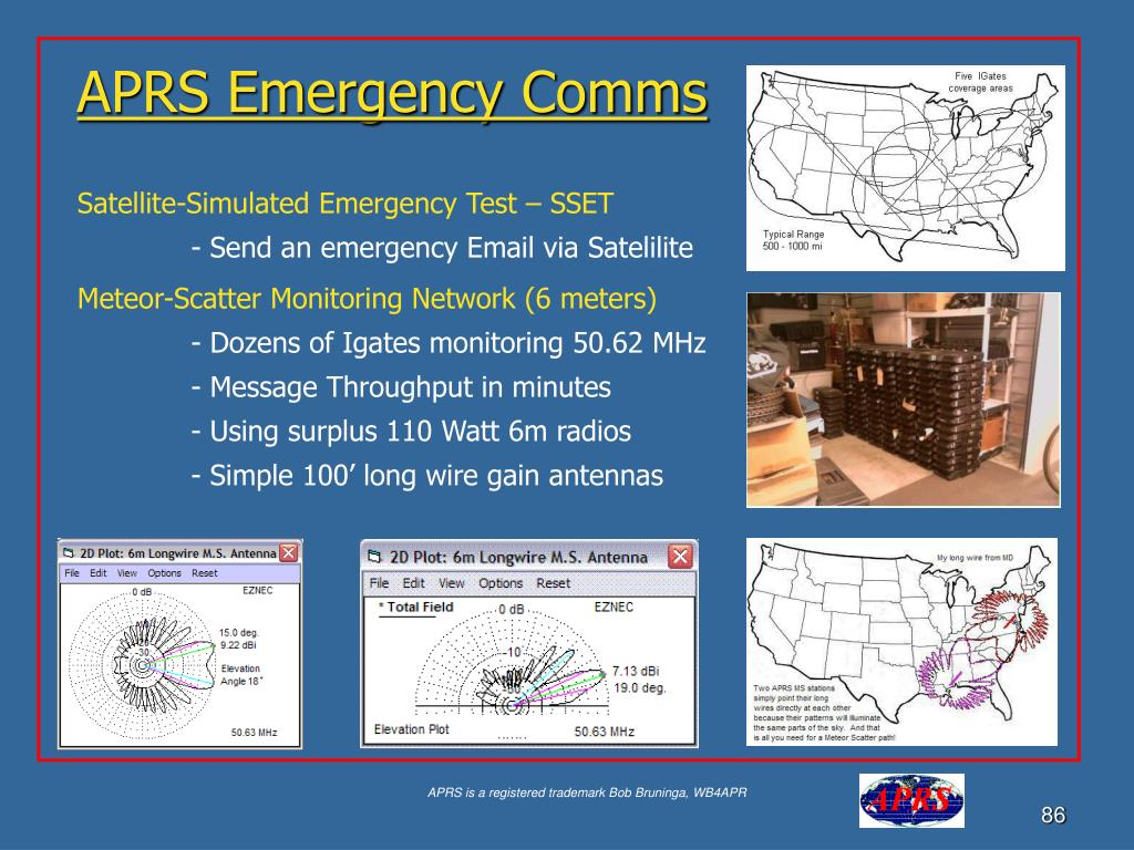APRS Emergency Comms