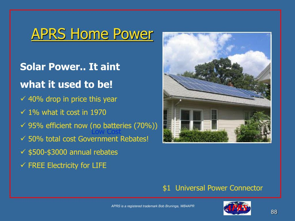 APRS Home Power