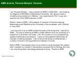 aims alumna theresia marijani tanzania