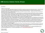 aims alumnus bewketu teshale ethiopia