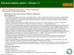 potential academic partner ethiopia 1 2