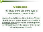 oculesics17