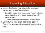 improving education2
