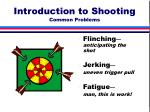 introduction to shooting common problems