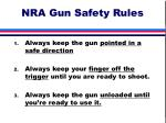 nra gun safety rules28