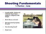 shooting fundamentals 1 position body