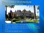 the need of architecture the winchester mystery house