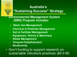 australia s sustaining success strategy10