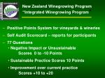 new zealand winegrowing program integrated winegrowing program