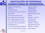 asociaci n de empresas consultoras de ingenier a