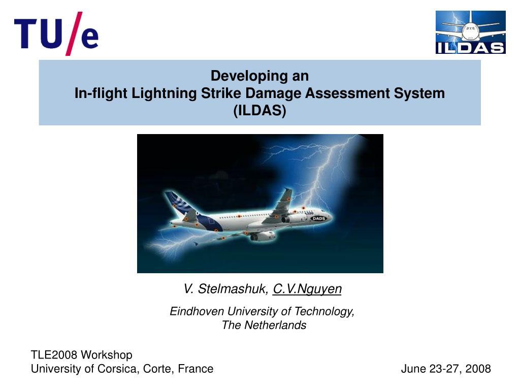 developing an in flight lightning strike damage assessment system ildas l.