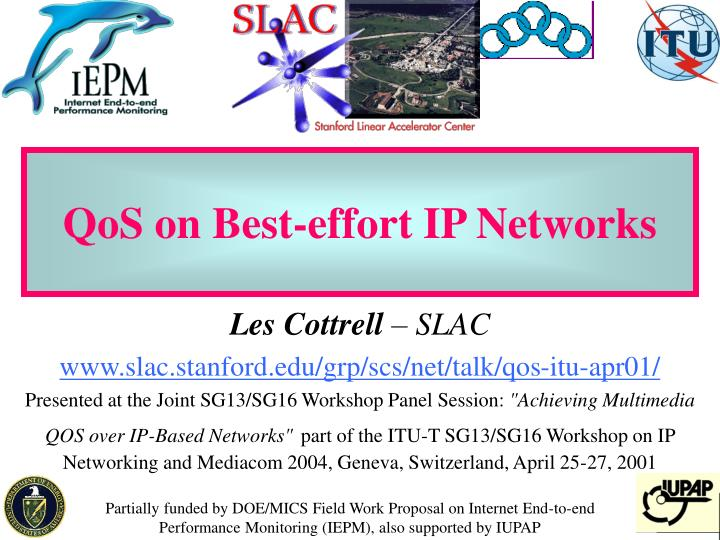 qos on best effort ip networks n.