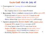 leyte gulf oct 44 july 45