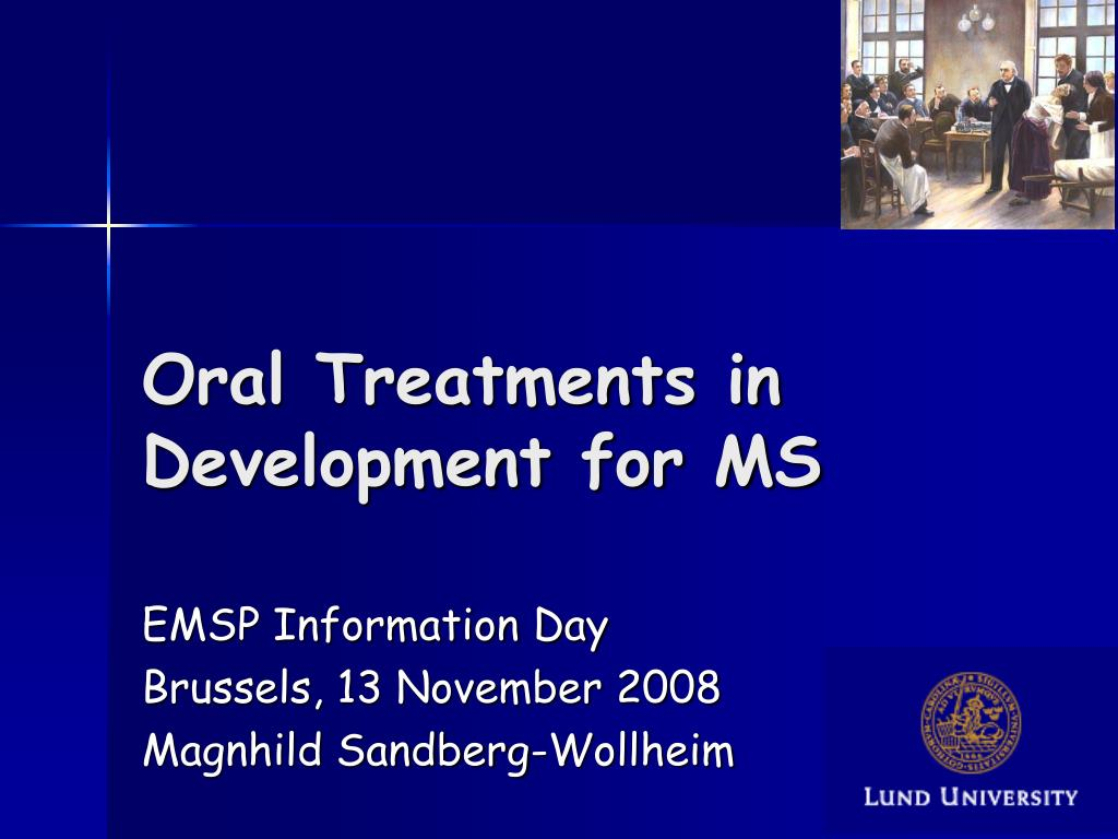 oral treatments in development for ms l.