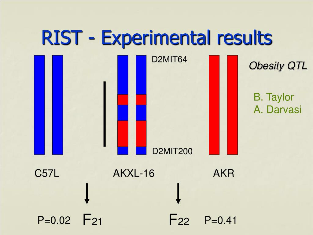 RIST - Experimental results