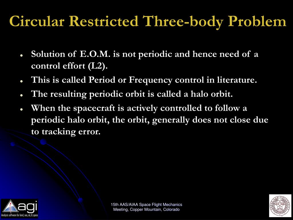Circular Restricted Three-body Problem