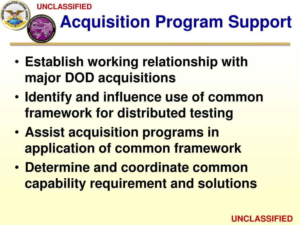Acquisition Program Support