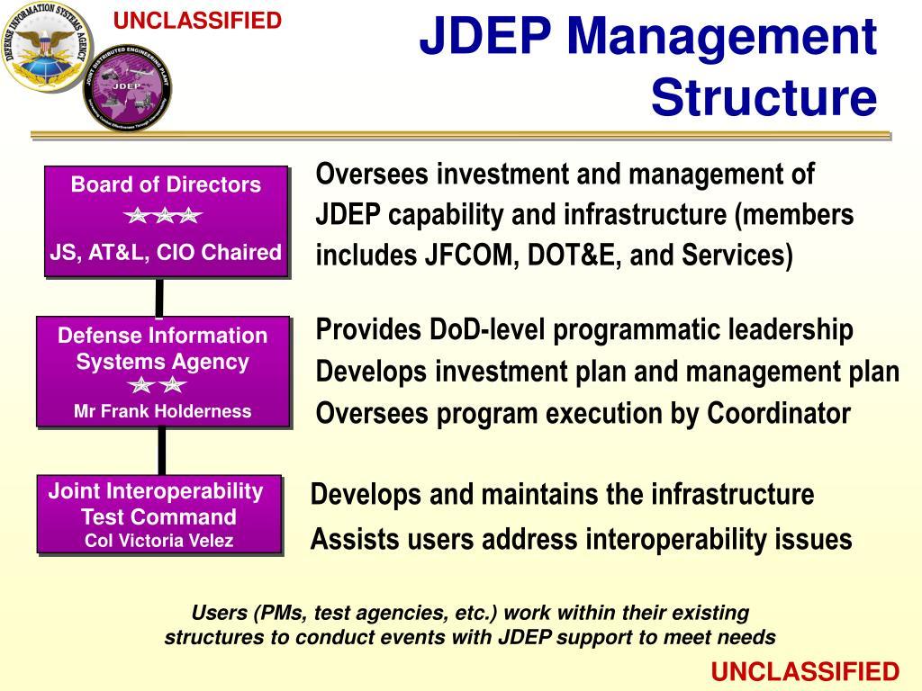 JDEP Management