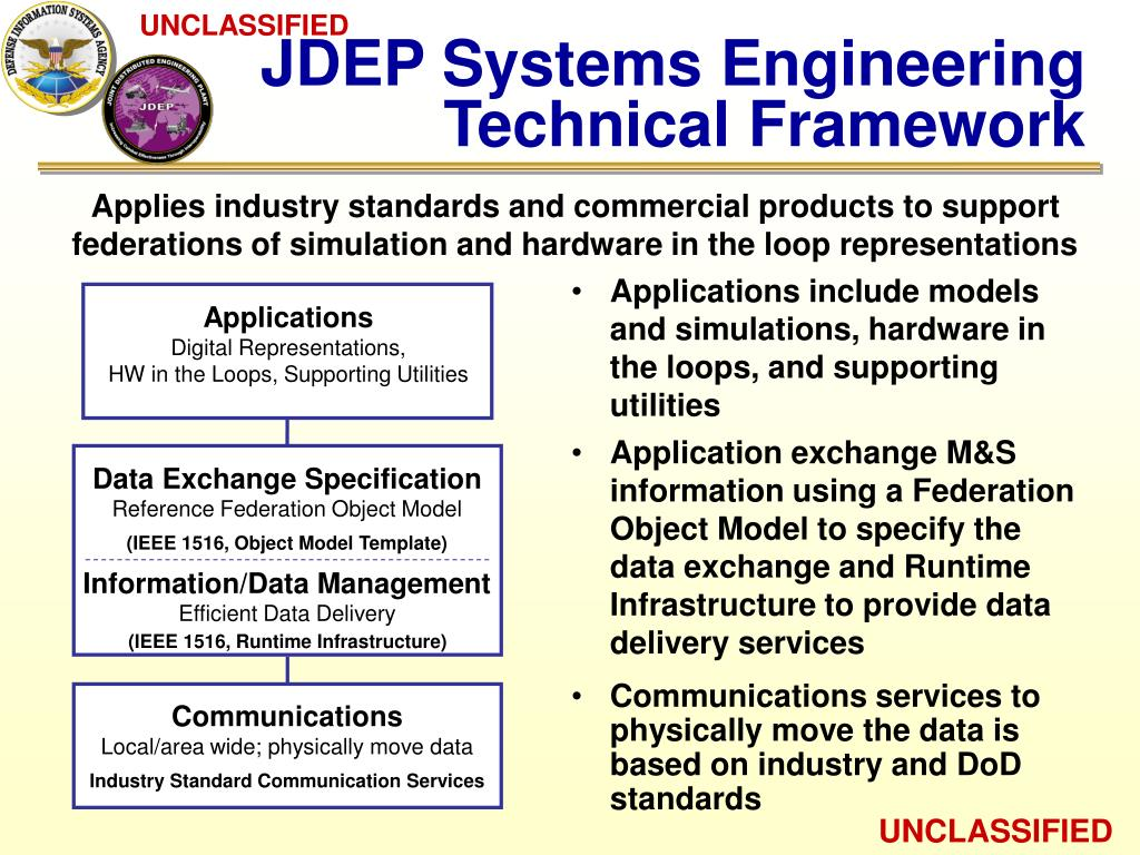 JDEP Systems Engineering