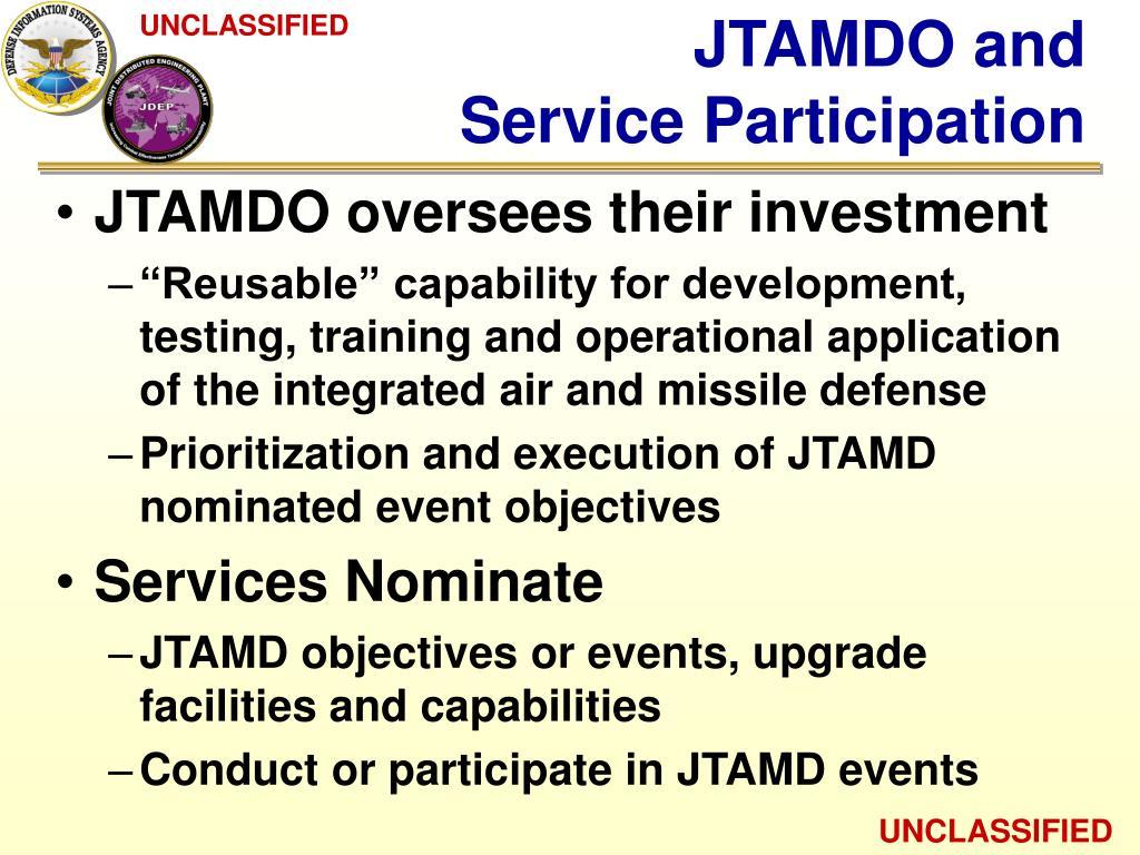 JTAMDO and