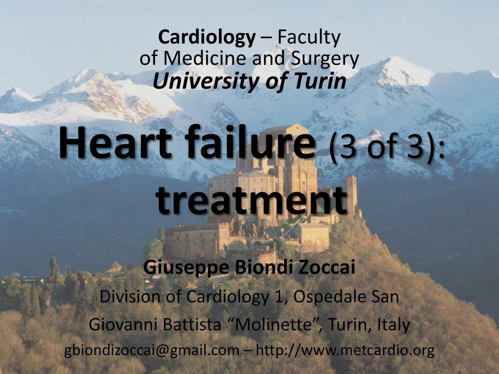 heart failure 3 of 3 treatment l.