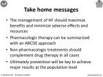 take home messages66