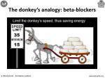 the donkey s analogy beta blockers