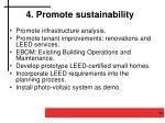 4 promote sustainability