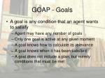 goap goals