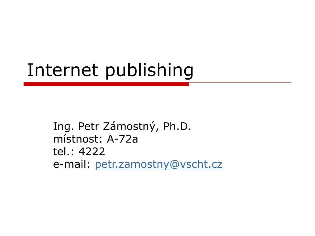 internet publishing l.