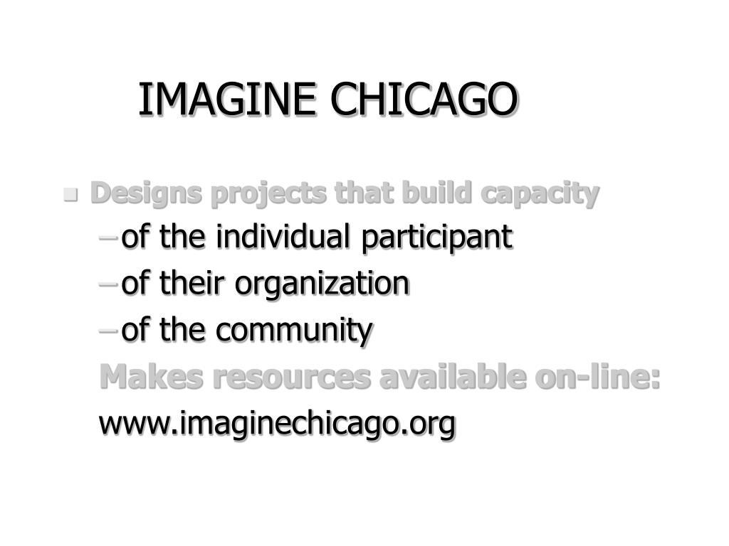 IMAGINE CHICAGO