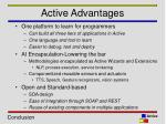 active advantages
