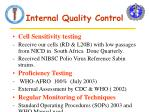 internal quality control