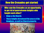 how the crusades got started10