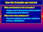 how the crusades got started11