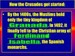 how the crusades got started28