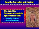 how the crusades got started8