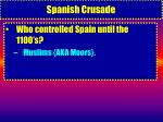 spanish crusade