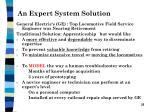 an expert system solution