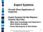 expert systems38