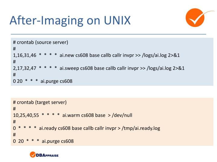 After-Imaging on UNIX