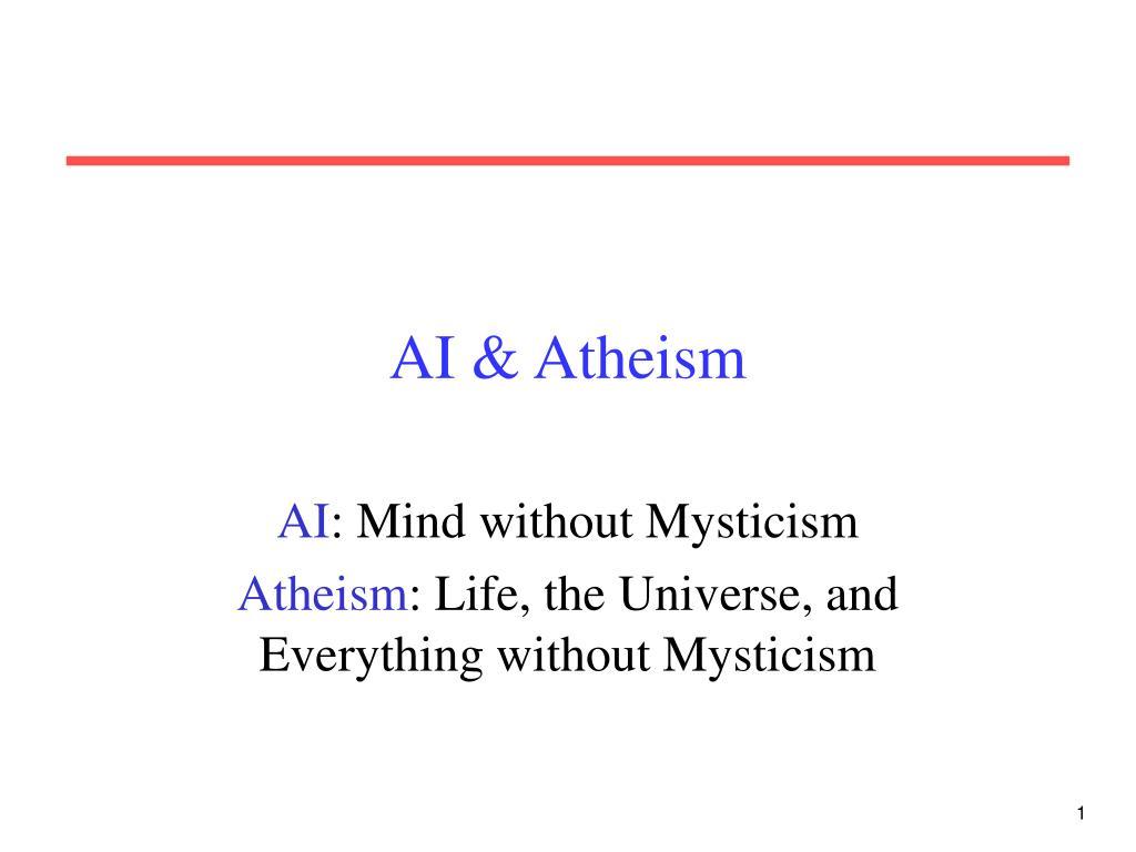 ai atheism l.