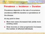 prevalence incidence duration