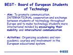 best board of european students of technology