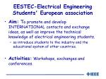 eestec electrical engineering students european association