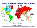 region 8 europe middle east africa